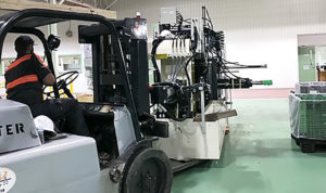 installation of line production line equipment